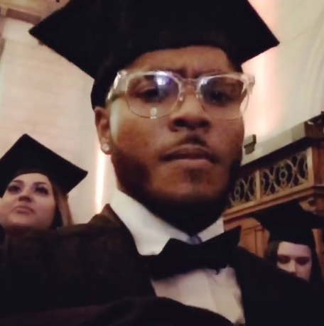 Photos: Actress Ibinabo Fiberesima's Son, Malcolm Trimnell, Graduates From UK University