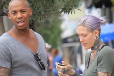Actor Mehcad Brooks Spotted Out With An Interesting Looking Woman