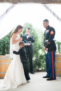 Heartwarming Video Of A 4 Year Old Boy Crying As His Step Mom Read Him Her Vows During Her Wedding