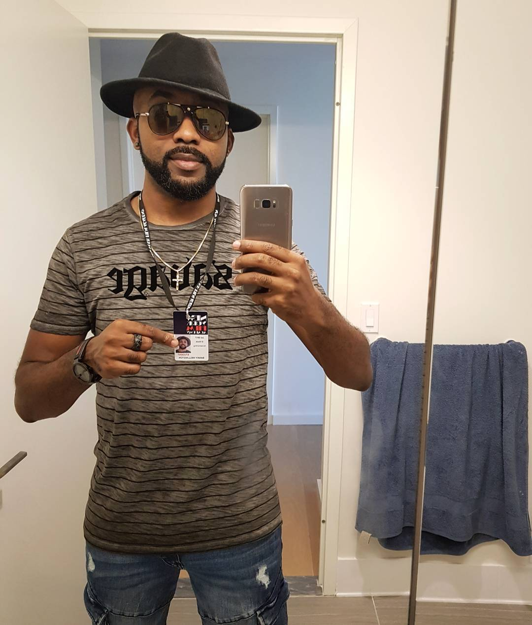 ENTERTAINMENT: Banky W Enrolls At New York Film Academy To Study Screenwriting