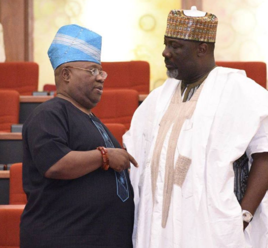 Photo: Dancing Senator And Singing Senator Spotted In Serious Conversation In The Senate, A Hot Collabo Coming?