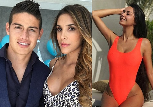 Real Madrid Star, James Rodriguez Split From Wife After 6 Years  amid Claims Of An Affair With A Russian Model