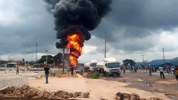 In Kogi : Death toll in petrol tanker accident rises to 13