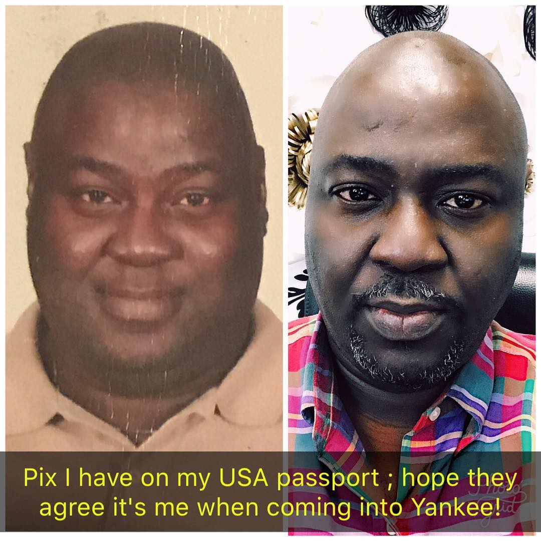 This Nigerian Might Find It Difficult Getting Into Trump's America Because Of His Passport Photo