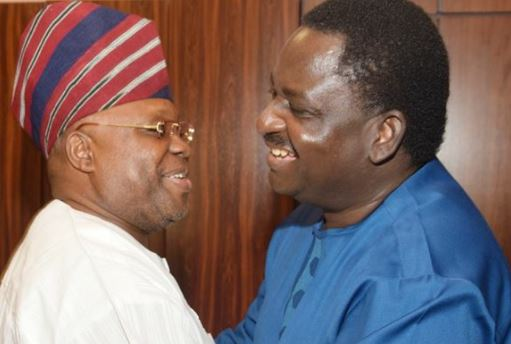 Not A Dancing Matter! Senator Adeleke Visits Femi Adeshina (Photos)