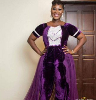 Check Out The Gorgeous Outfits Mercy Johnson Wore Last Night At The Warri Mega Fiesta (Photos)