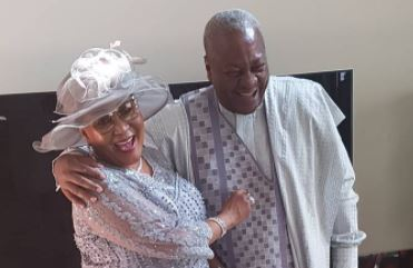 Photos: Former Ghanaian President John Mahama And His Wife Lordina Celebrate 25 Years Of Marriage