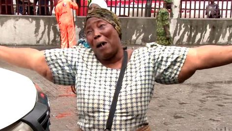 Photos: Residents In Tears As Lagos State Demolishes Illegal Shanties In Obalende