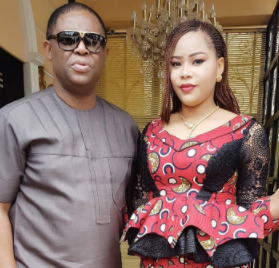 """You Make Me Proud Baby""-FFK Congratulates His Wife, Precious, For Winning The Most Influential Beauty Queen In Nigeria Award"
