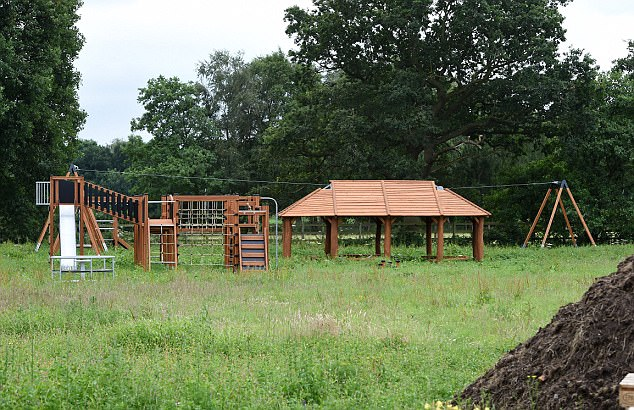 Image result for Check Out The Play Ground Sterling Of Manchester Built For His Song