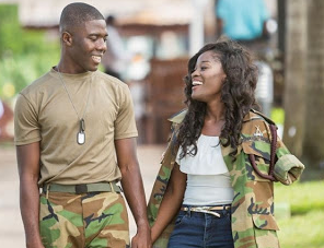 Check out these cute pre-wedding photos of a soldier and his bride-to-be