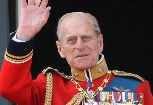 96-year-old Prince Philip, husband of Britain's Queen Elizabeth will retire this week