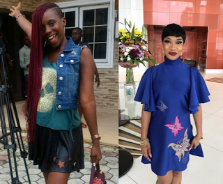 """It's clear you are bitter"": Tonto Dikeh replies Ada Slim after she called her out"