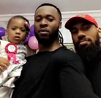 Photos: Flavour & Anna Ebiere celebrate the 2nd birthday of their daughter, Sophia