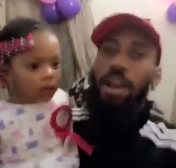 Watch Phyno and Flavour's daughter Sophie dance to Speed