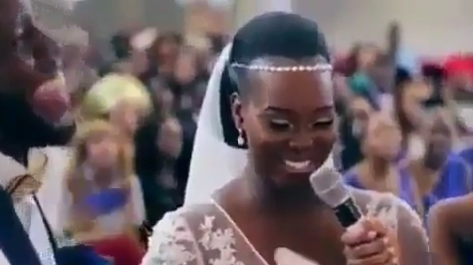 """Trending Video: """"For Richer & For Richer"""" - This Bride is taking no chances. Who can relate to this?"""