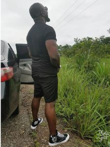 Jim Iyke sarcastically apologises for urinating by the roadside, but says he will do it again