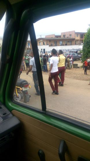 Pics: Ritualist underground Den uncovered in Ijaiye, Lagos-Abeokuta road