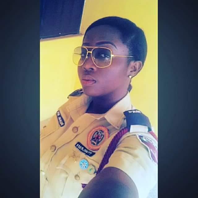 the female officer
