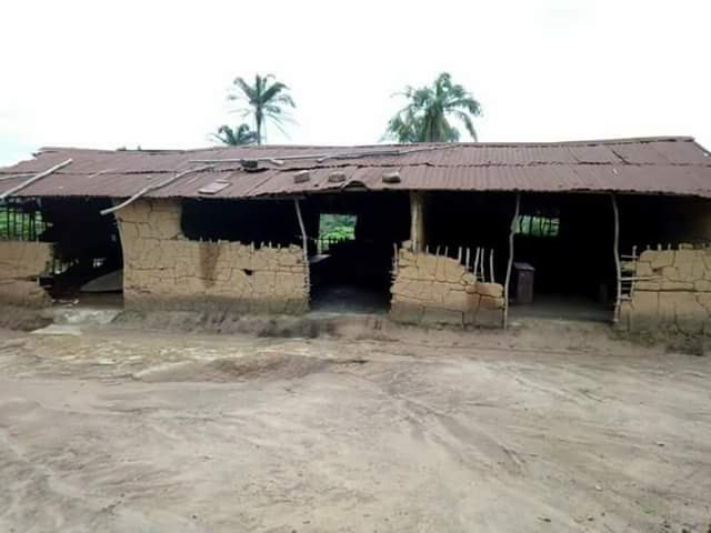 Photos: Dilapidated state of a primary school in Akwa Ibom State