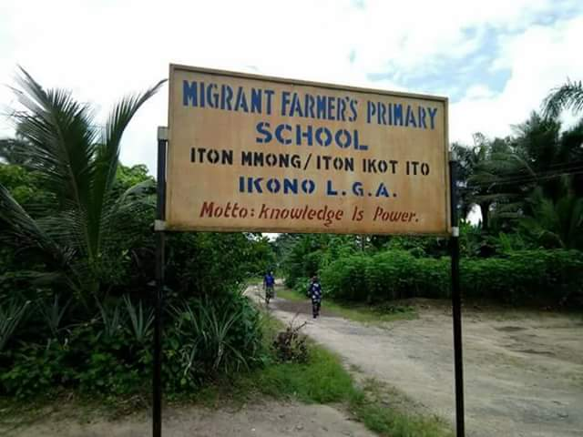 The sorry state of a primary school in Akwa Ibom state (Photos)