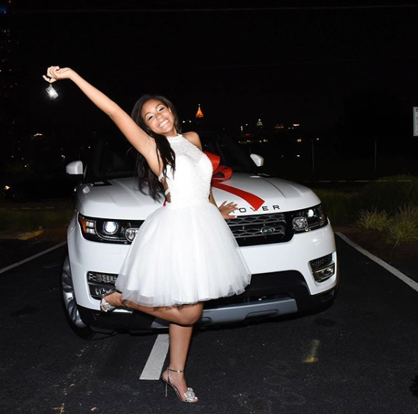 Ludacris gifts his daugter a Range Rover for her 16th birthday