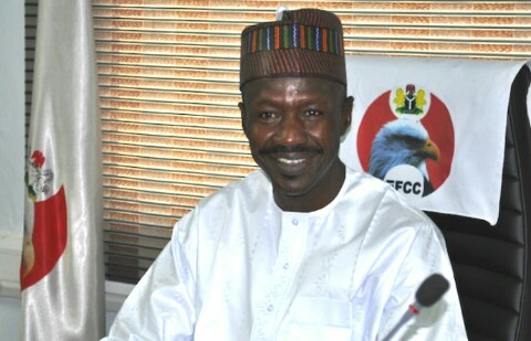People think I'm always under pressure but I sleep very well- EFCC acting chairman, Ibrahim Magu, says