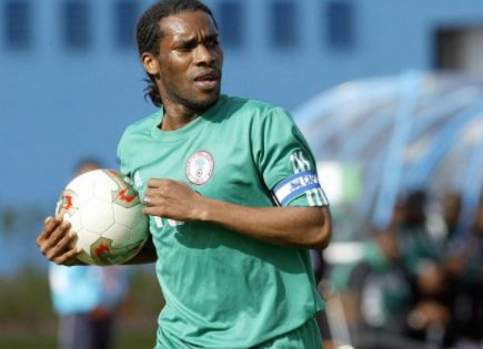 Legendary Nigerian footballer, Jay -Jay Okocha turns 44 today