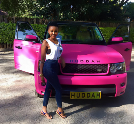 Publicity stunt or financial troubles? Huddah Monroe sells off her cars because they are no longer a piriority