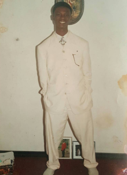 Comedian, I go dye, shares throwback photo from his first one room rented apartment