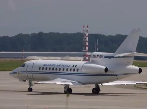 Video: Presidential jet departs UK for Nigeria as President Buhari returns today