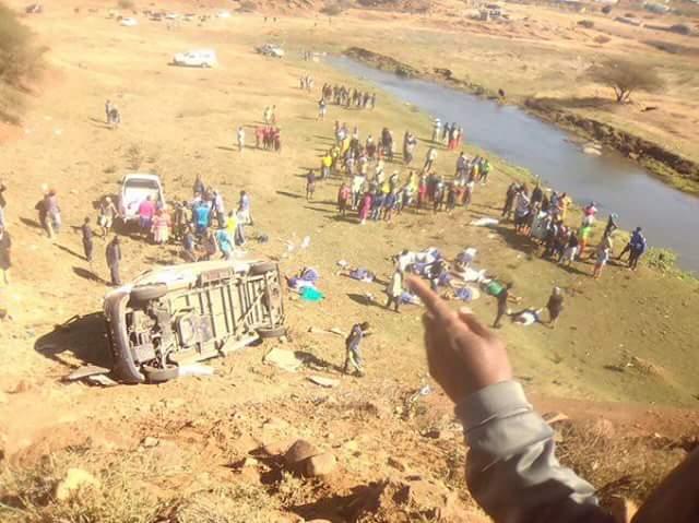 Tragic: 18 passengers dead in horrific taxi crash in South Africa