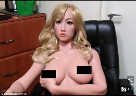 Austrian brothel buys a second sex doll after its first is highly demanded by customers over real women