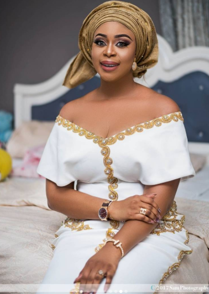 Photos from Actress Mimi Orjiekwe's  daughter's christening