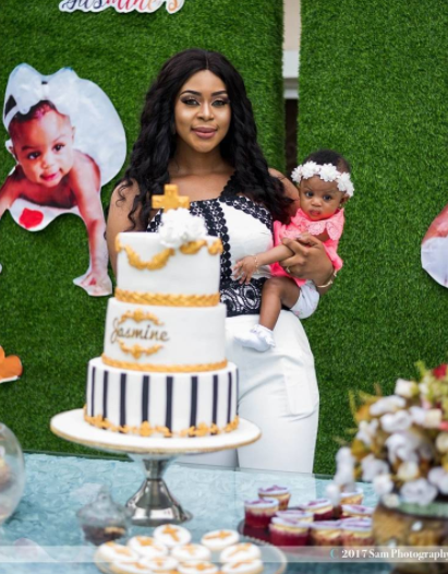 Photos of Actress Mimi Orjiekwe's daughter Jasmine