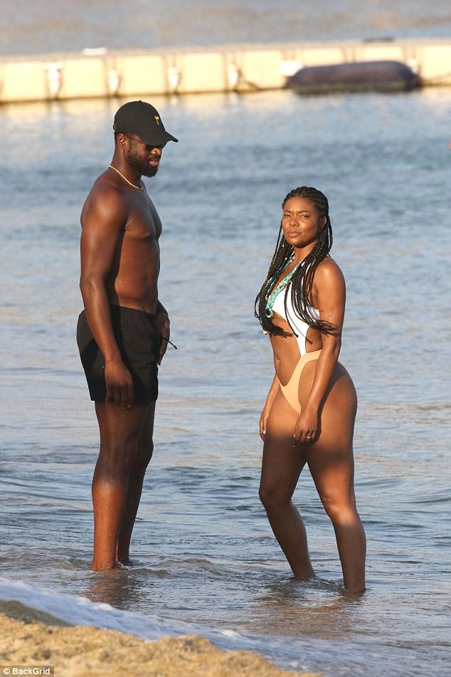 Gabrielle Union and Dwyane Wade loved up photos