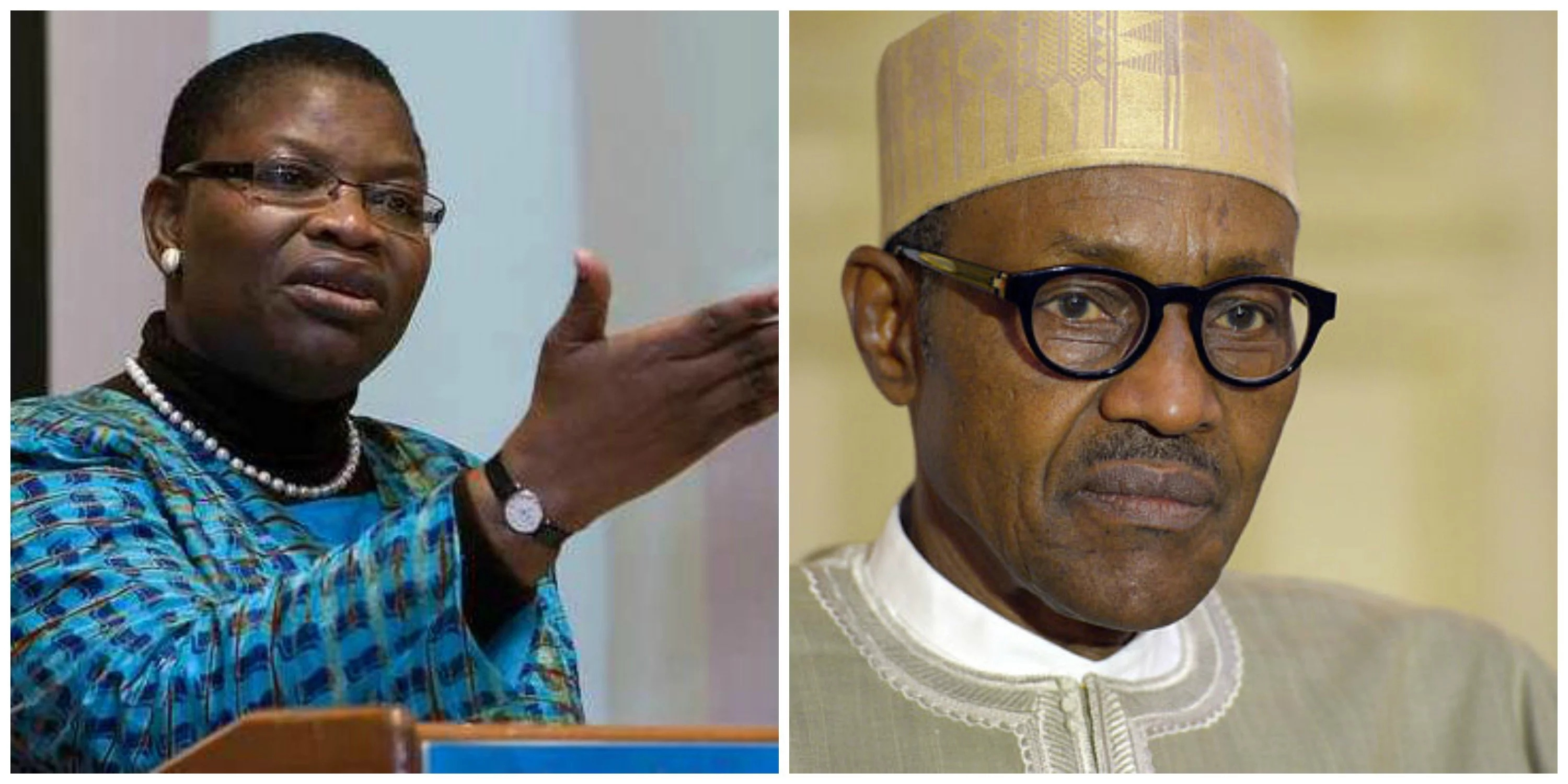 The RATification of President Buhari and Oby Ezekwesili's Soup By Reno Omokri