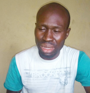 Photo: Man arrested for attempting suicide over his inability to pay his N50k loan in Ogun
