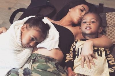 Video: North West don't like her brother Saint and it's hard for me - Kim Kardashian says