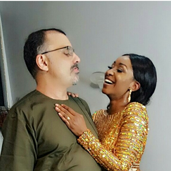 Actress Ashionye Michelle And Hubby Celebrated 8th Wedding Anniversary