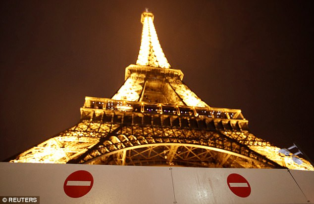 """Eiffel Tower Paris on lockdown and Eurostar station evacuated as police arrest man """"with weapon"""""""
