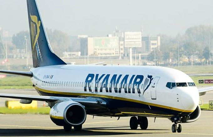Nine men kicked out of Ryanair flight 'after one jokingly shouted 'Allahu Akbar'