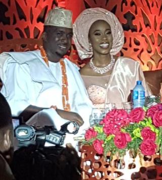 Photos: Yemi Osinbajo, Odigie-Oyegun, Nasir El-Rufai, others at the wedding of the daughter of billionaire businessman, Hakeem Belo-Osagie