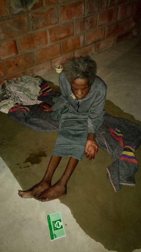 Photos: Oldest woman,105 in Makurdi IDP camp with her 75-year-old daughter