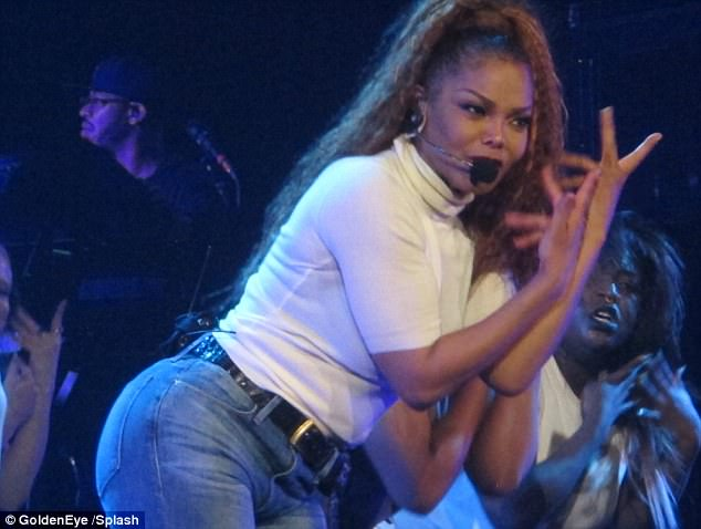 New Mom Janet Jackson Launches New Tour