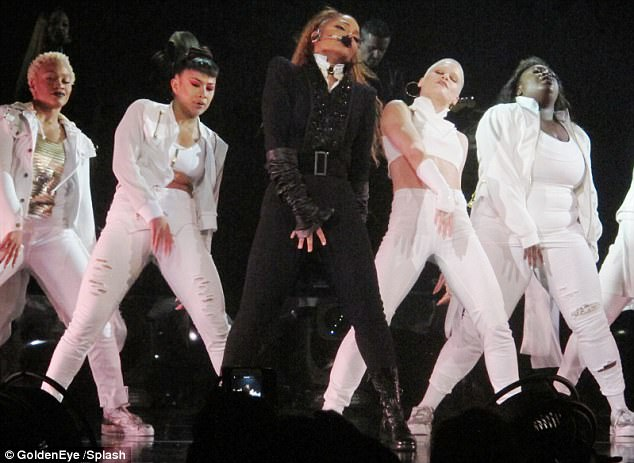 Janet Jackson Breaks Down Onstage During Performance of