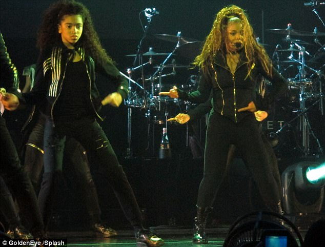 Janet Jackson performs in Houston