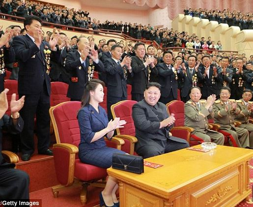 Kim Jong-un throws a huge party for the scientists behind North Korea's latest nuclear bomb test (Photos)