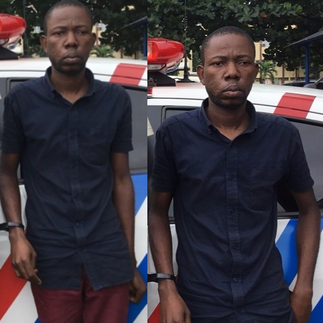 Photos: RRS arrests housekeeper over N500m fraud