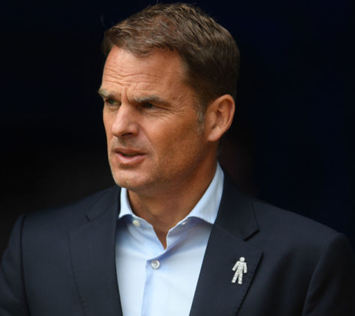 After Fourth straight Premier League defeat, Crystal Palace sacks coach, Frank de Boer